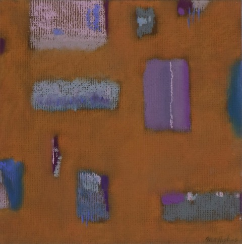 Untitled,  Pastel, 17.5 x 17.5 inches framed, 12 x 12 inches unframed $300 (Framed) $150 (Unframed) Michael Hopkins