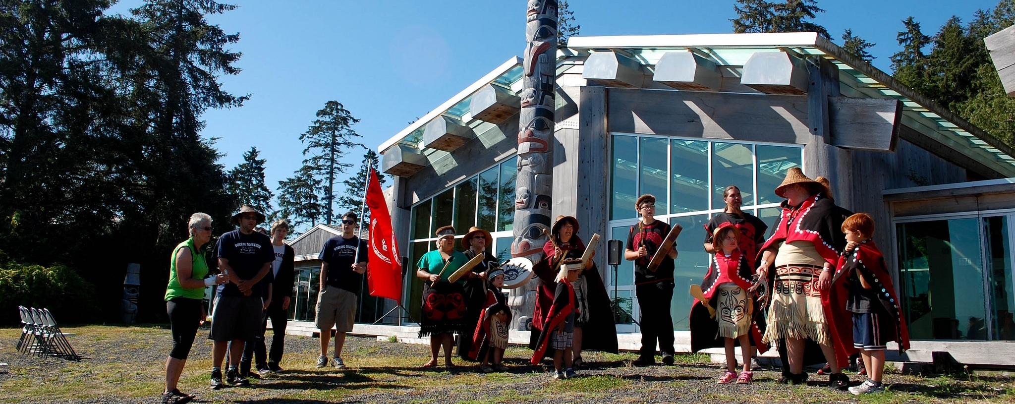 The Haida Heritage Centre in Skidegate is a must-see!