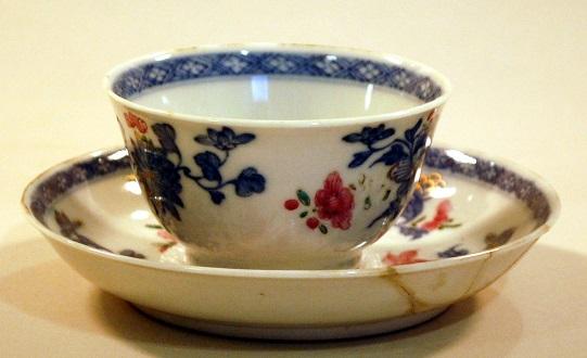 Cup and saucer, circa 1750-1780 (1910.0050.040)