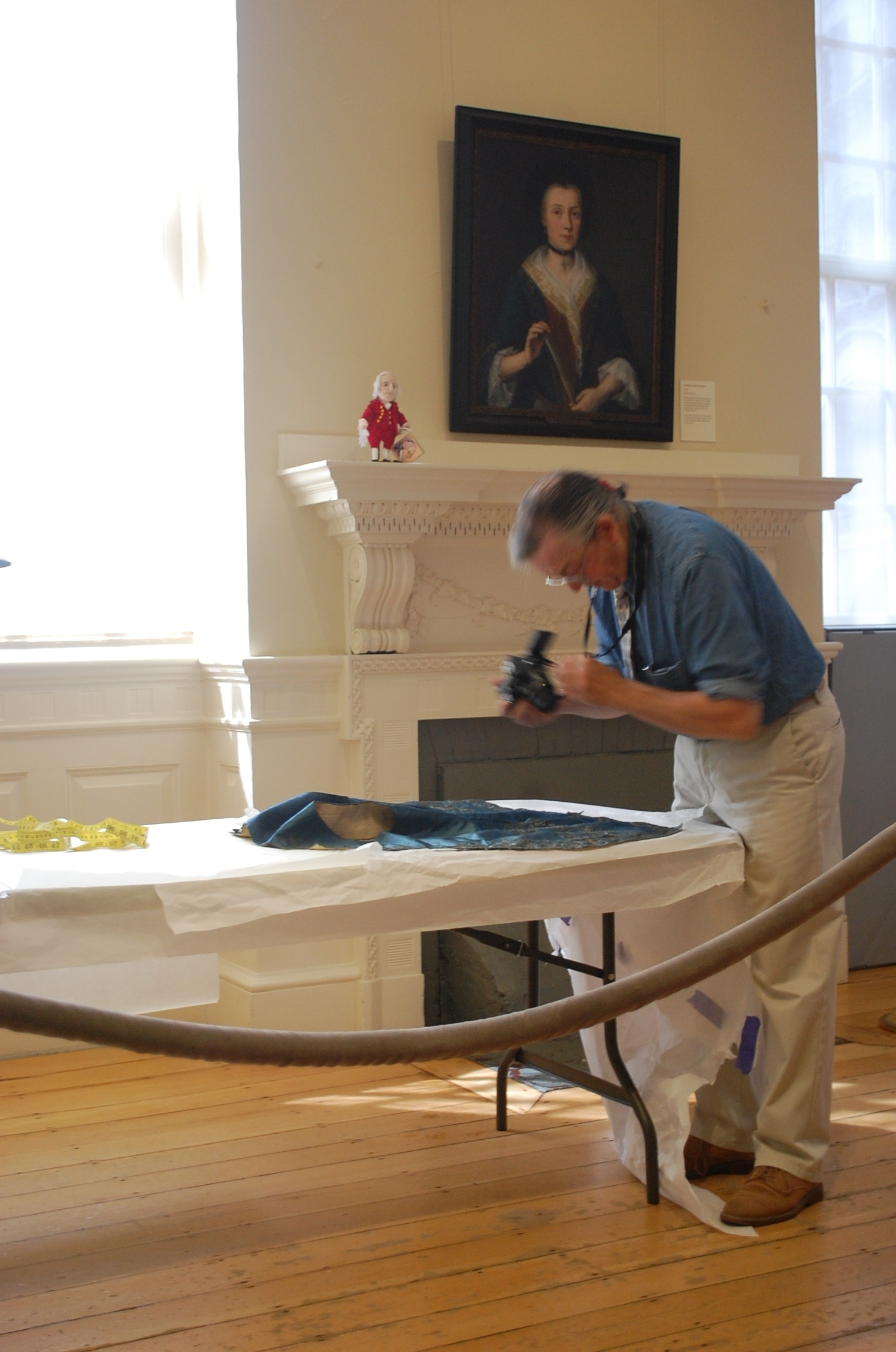 He also took many photos of the exquisite details to aid in the reproduction process.
