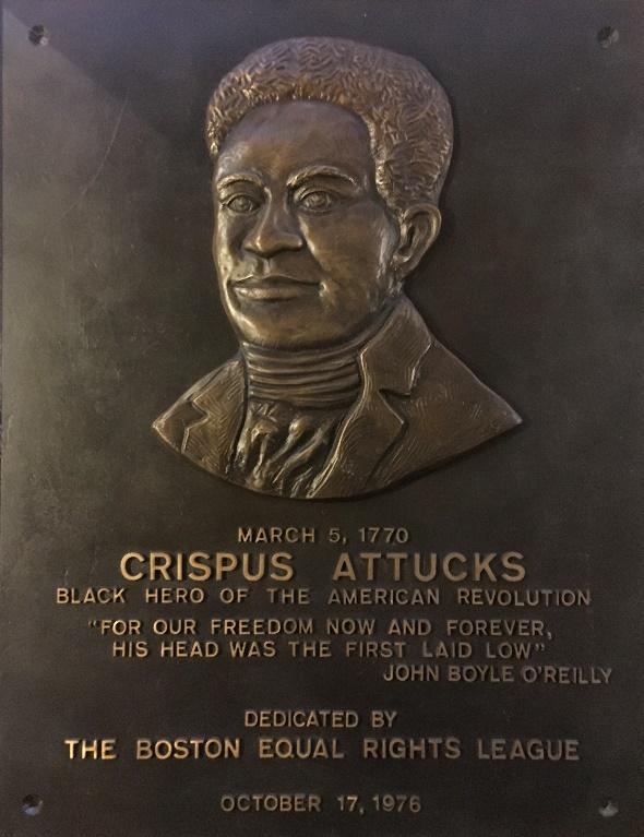 NN2038 Crispus Attucks Plaque