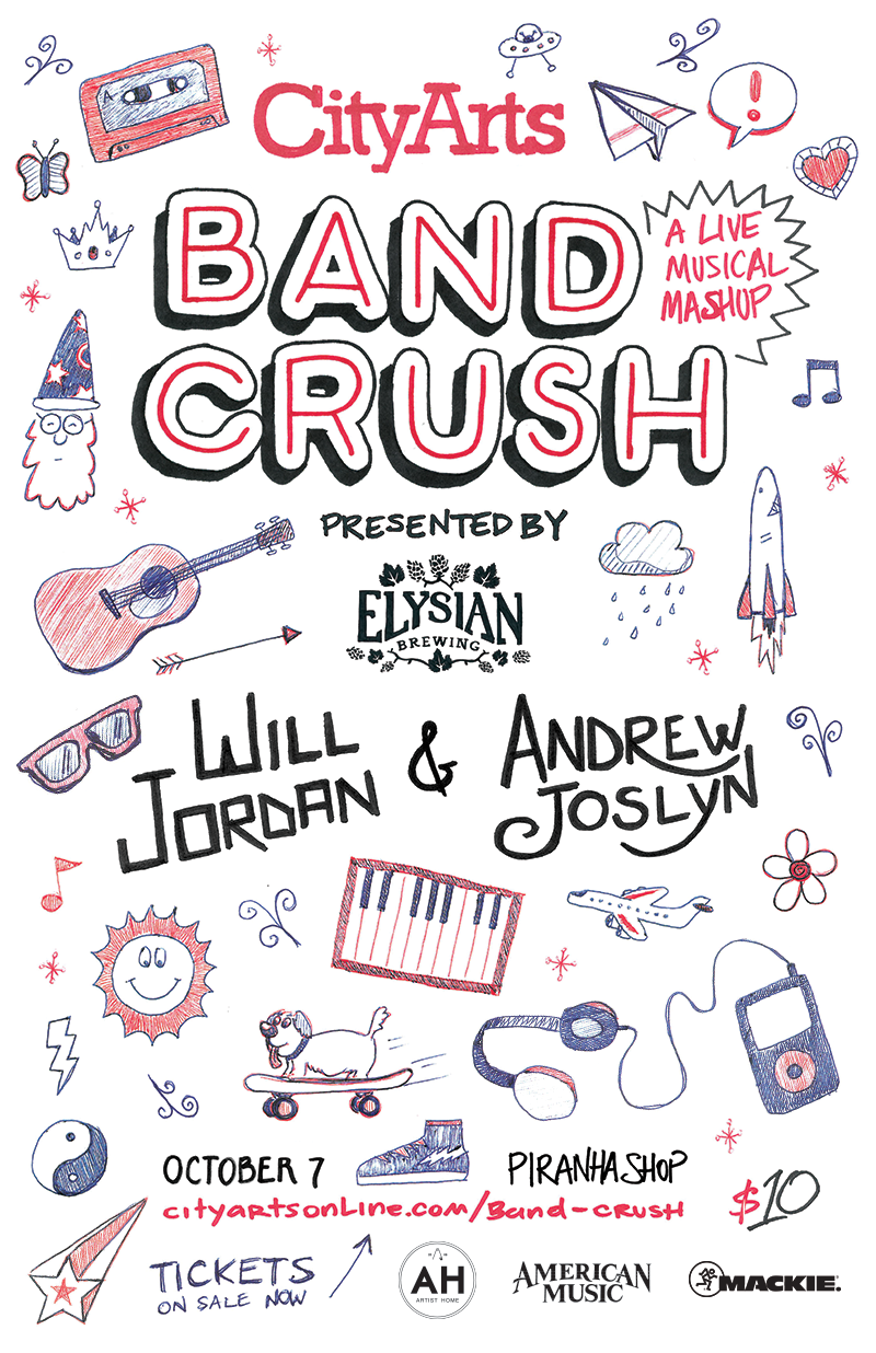 Our favorite Seattle bands choose their musical crush, then we host the perfect date. Two bands, one set. Join us for the debut of this exciting concert series.