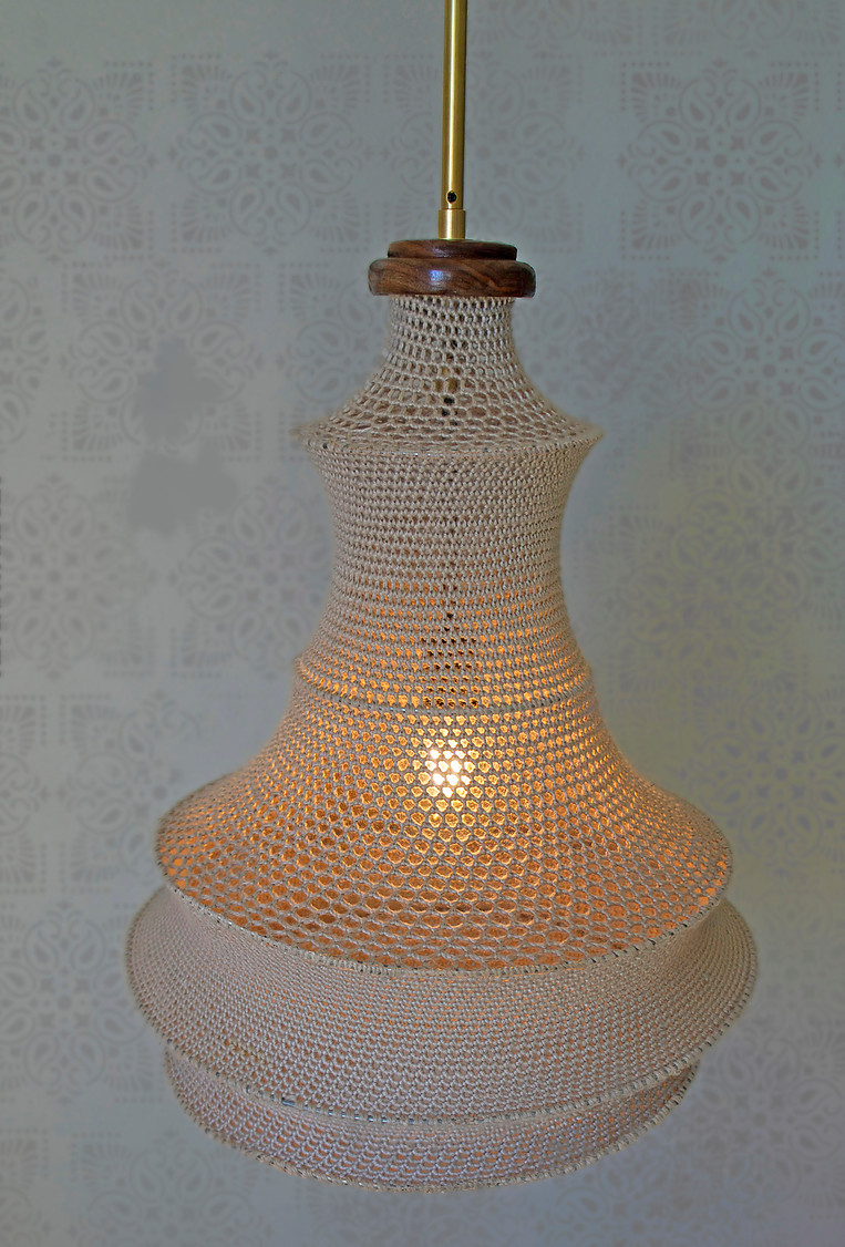 Bringing serenity into your space. Handcrafted lamps from Modkom made in the beautiful hills of Montecito Heights in LA.www.modkomshop.com -