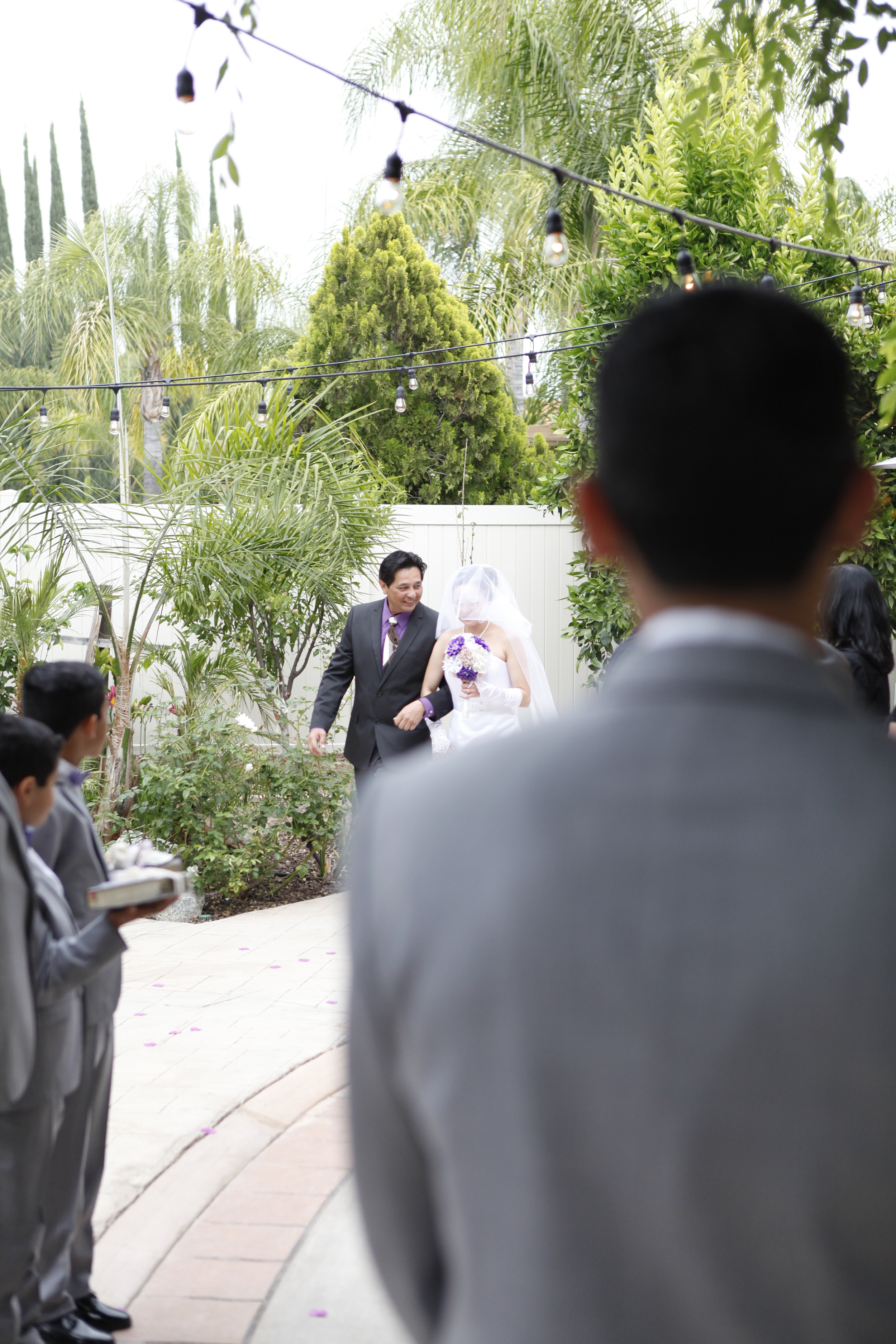 From the Groom's Eyes