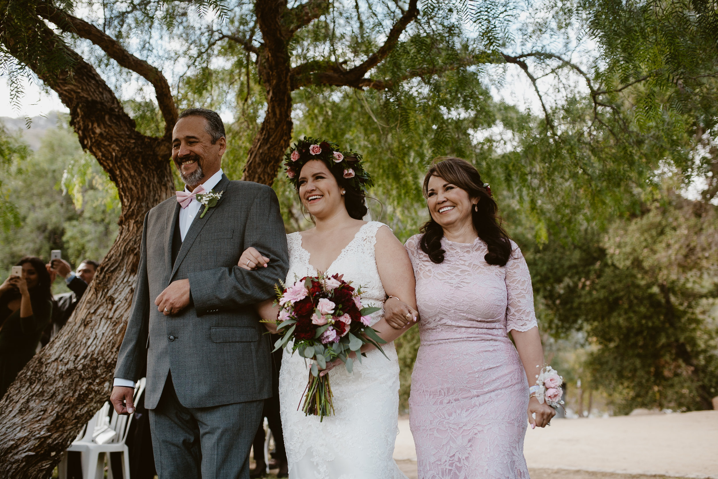 The Bride & her Parents
