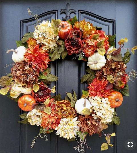 Fall Wreath   source