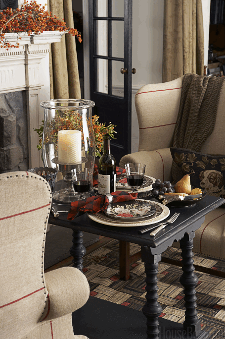 Fireside dining for two from HB   source