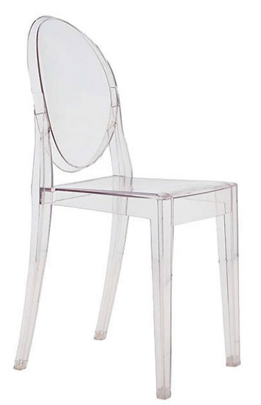 Victoria Ghost Chair Design by Phillip Starck   source