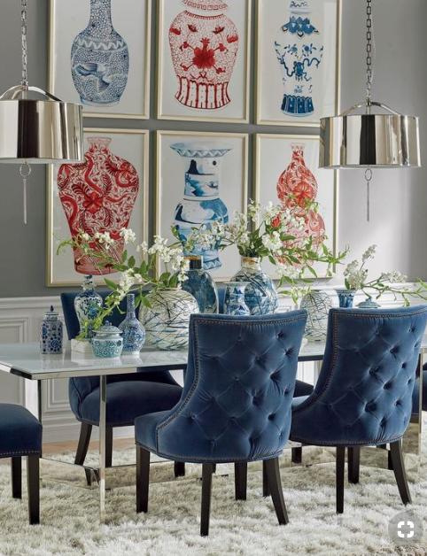 Blue as accent color source -  Frontgate