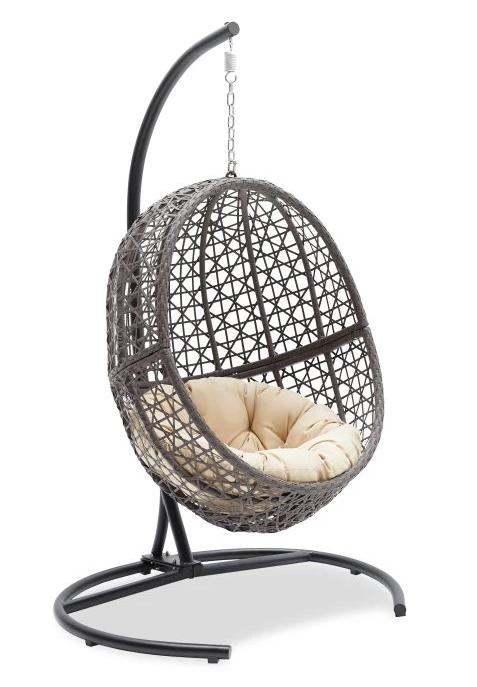 Indoor outdoor pod swing from   Hayneedle