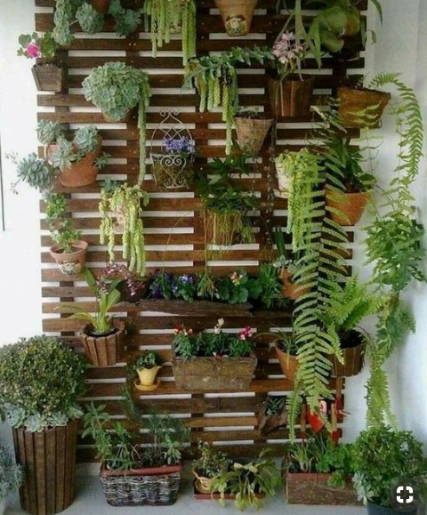 balcony wall garden  source