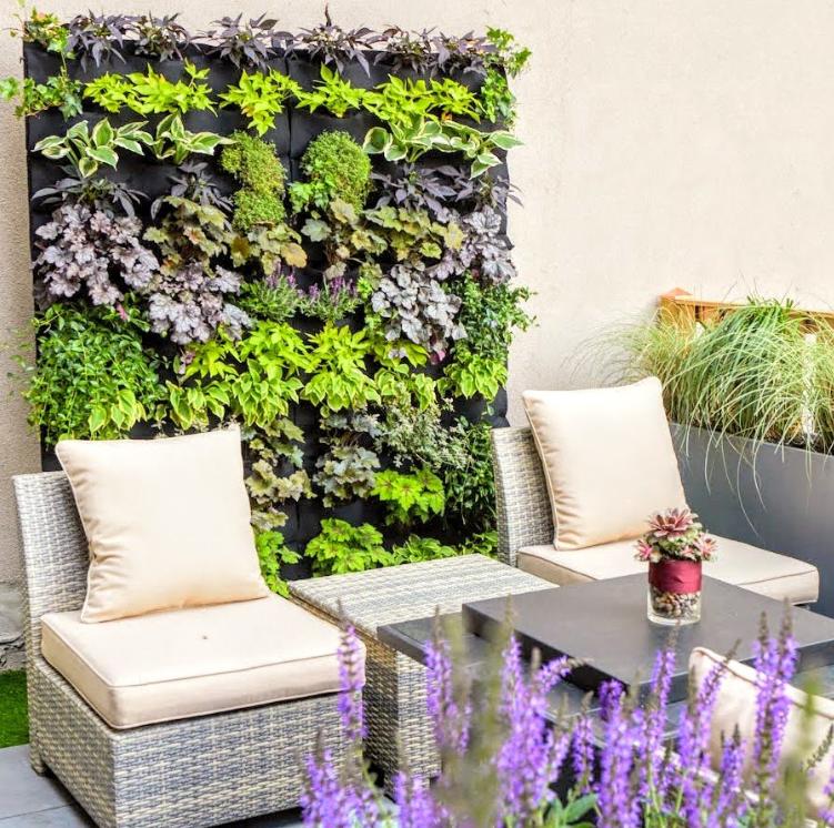 A   Florafelt Vertical Garden design