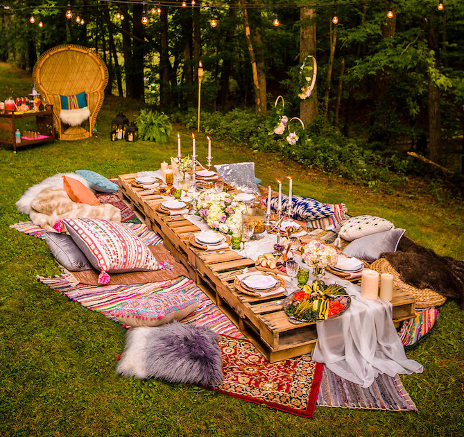 Boho Midsummer Nights Soirée by Kara Allen