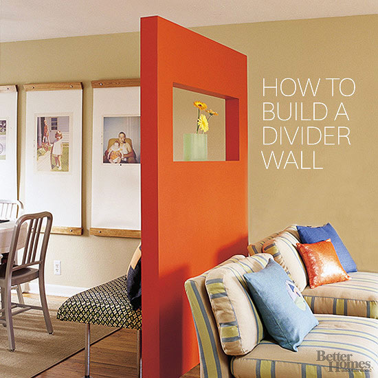 BHG article on Hot To Build A divider
