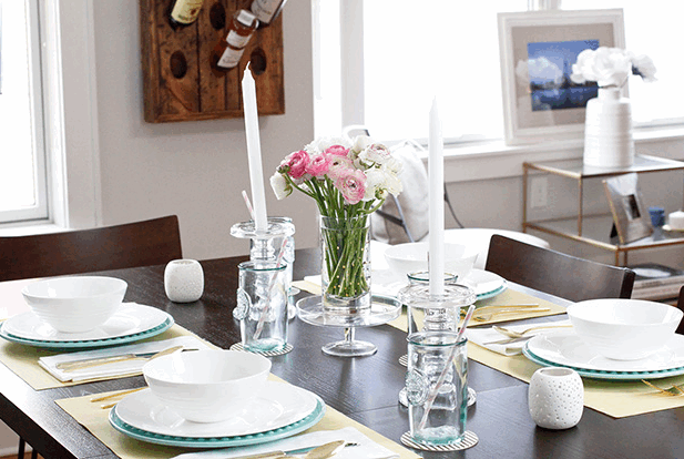 Endlessly Elated.com on How to Design a Spring Table