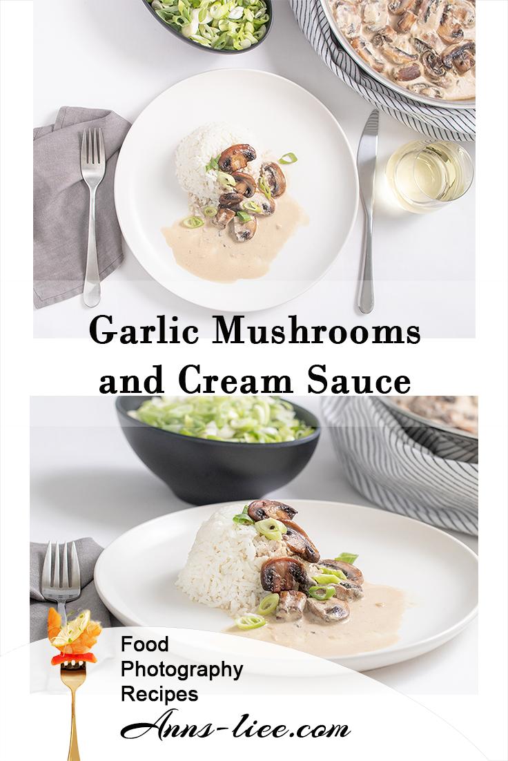Garlic Mushrooms Cream Sauce Pinterest Long Image1.png
