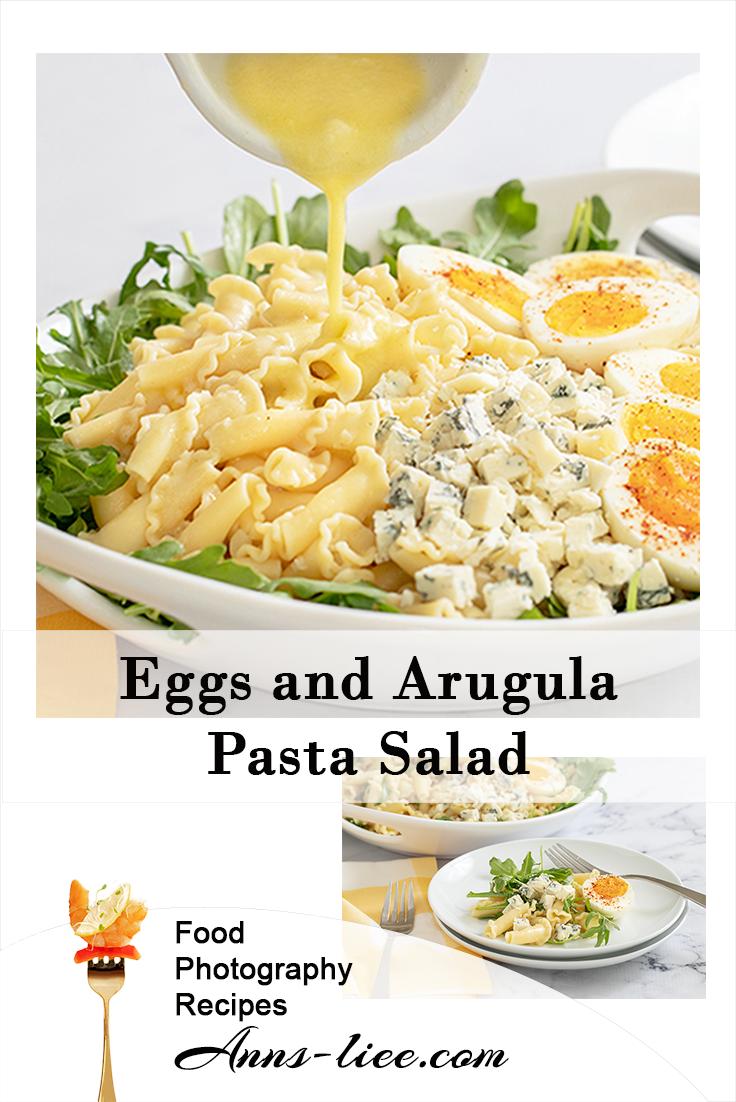Eggs Arugula Pasta Salad Pin.png