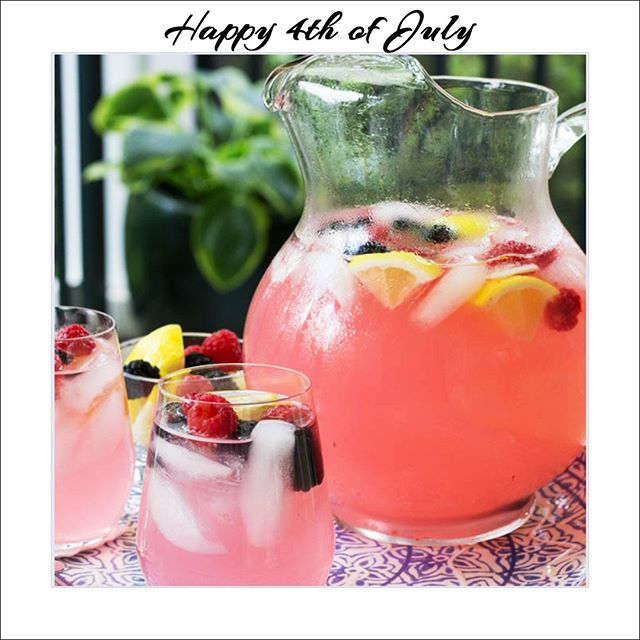 Happy 4th of July to You and Your Family!  Be Safe, Be Happy—but do remember those who have so much less!  #fourthofjuly #4thofjuly #4th #drinkphotography #drink #pinklemonaid #coldbeverage #lemonaid #summerbeverages ##summertimedrinks #nonalcholic