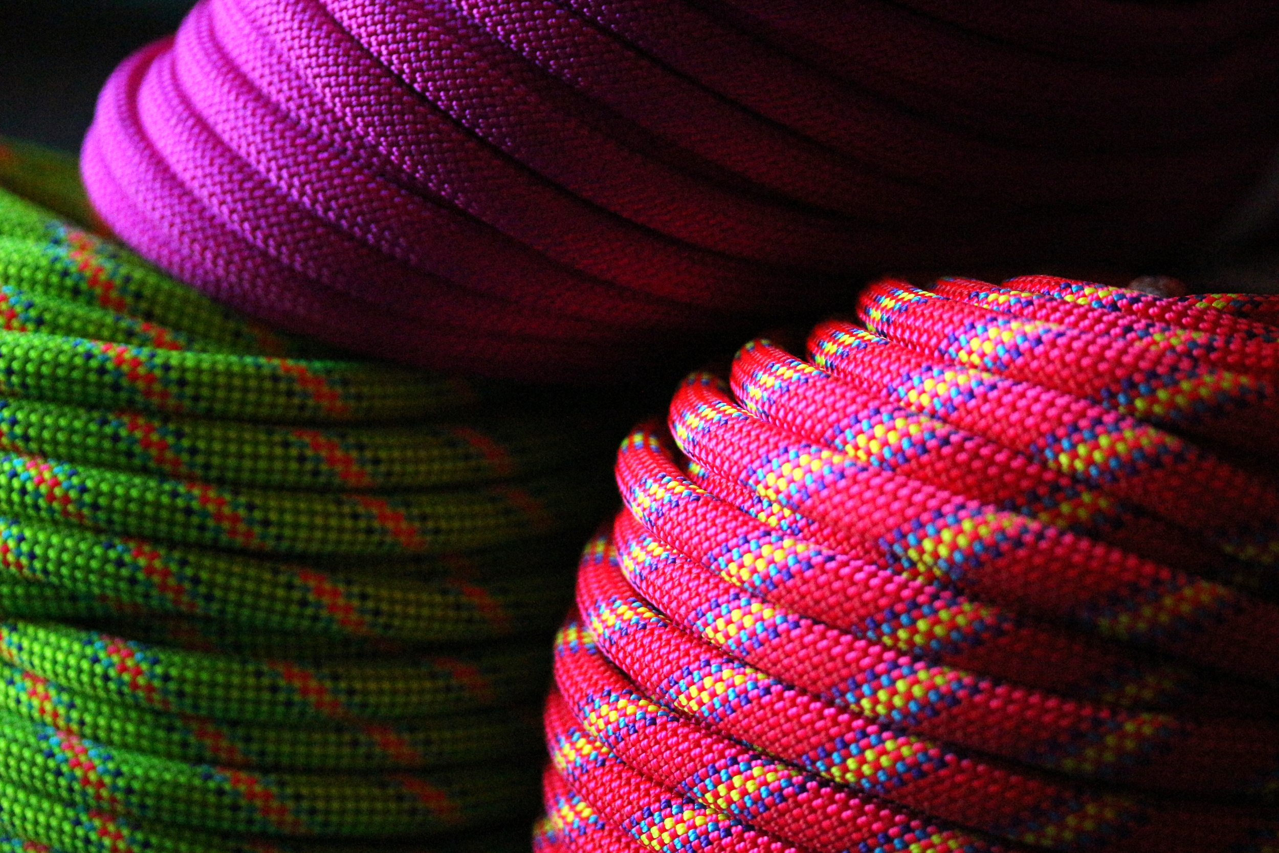 Beal Virus and Trango Lotus ropes