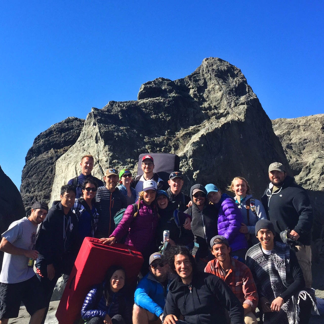 Team SW/AG during Lost Rocks 2.0