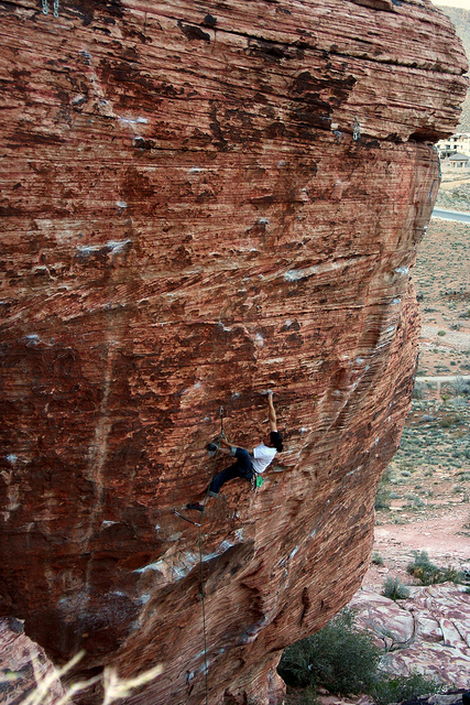 Juan Rodriguez on Wonder Stuff, 5.12d