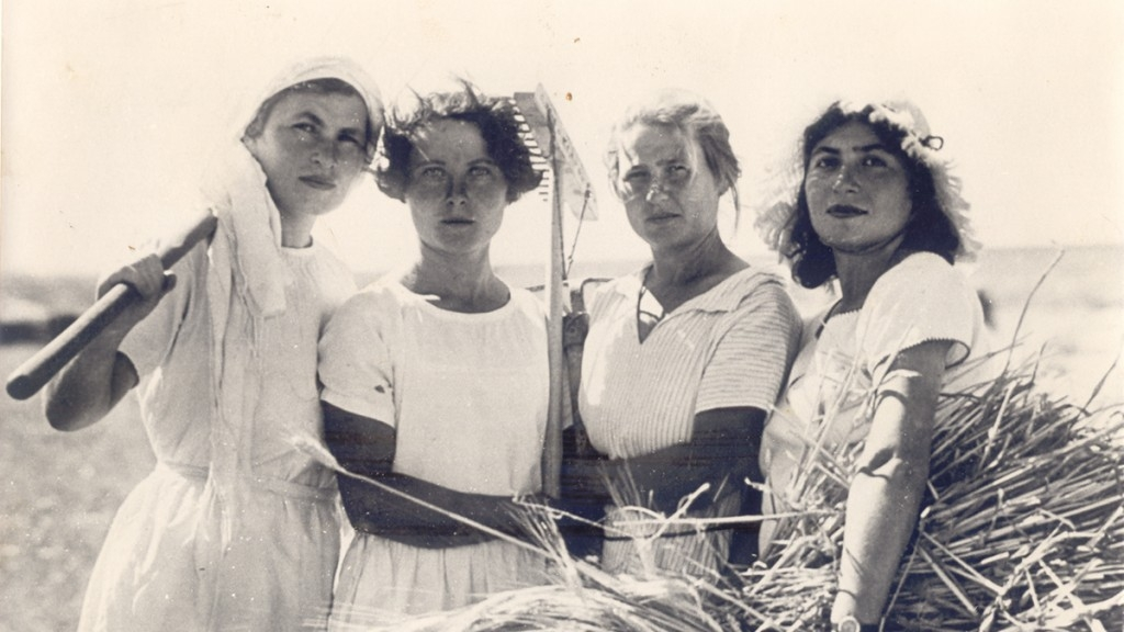 THE WOMEN PIONEERS   A hundred years ago, women pioneers came from Europe to Palestine, to realize the dream of creating a new woman in a new world.