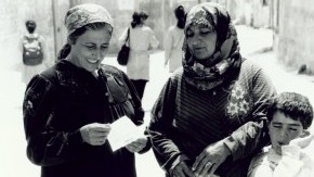 THE WOMEN NEXT DOOR   A film with curriculum materials documenting how the Occupation affects women in the Palestinian-Israeli conflict.