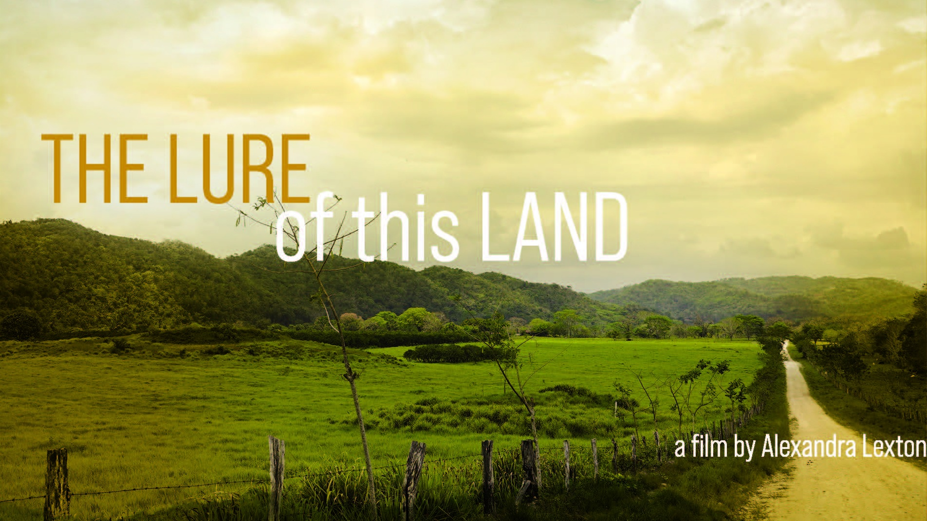 THE LURE OF THIS LAND    A story about expats and the filmmaker's journey to find their stories. What is it that propels us to leave the places we know? Why are some willing to get lost? What are they looking for and what do they find?