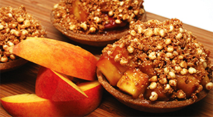 Gluten-Free Peach Pie with Streusel Topping