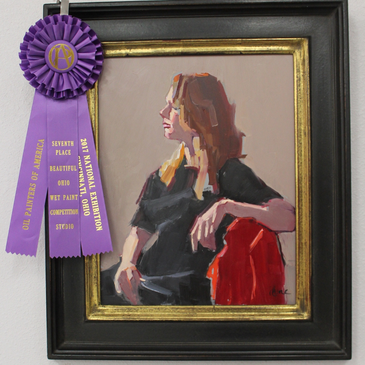 12x9 - 7th place in Oil Painters of America's 26th National Exhibition Wet Paint Competition/Studio Division