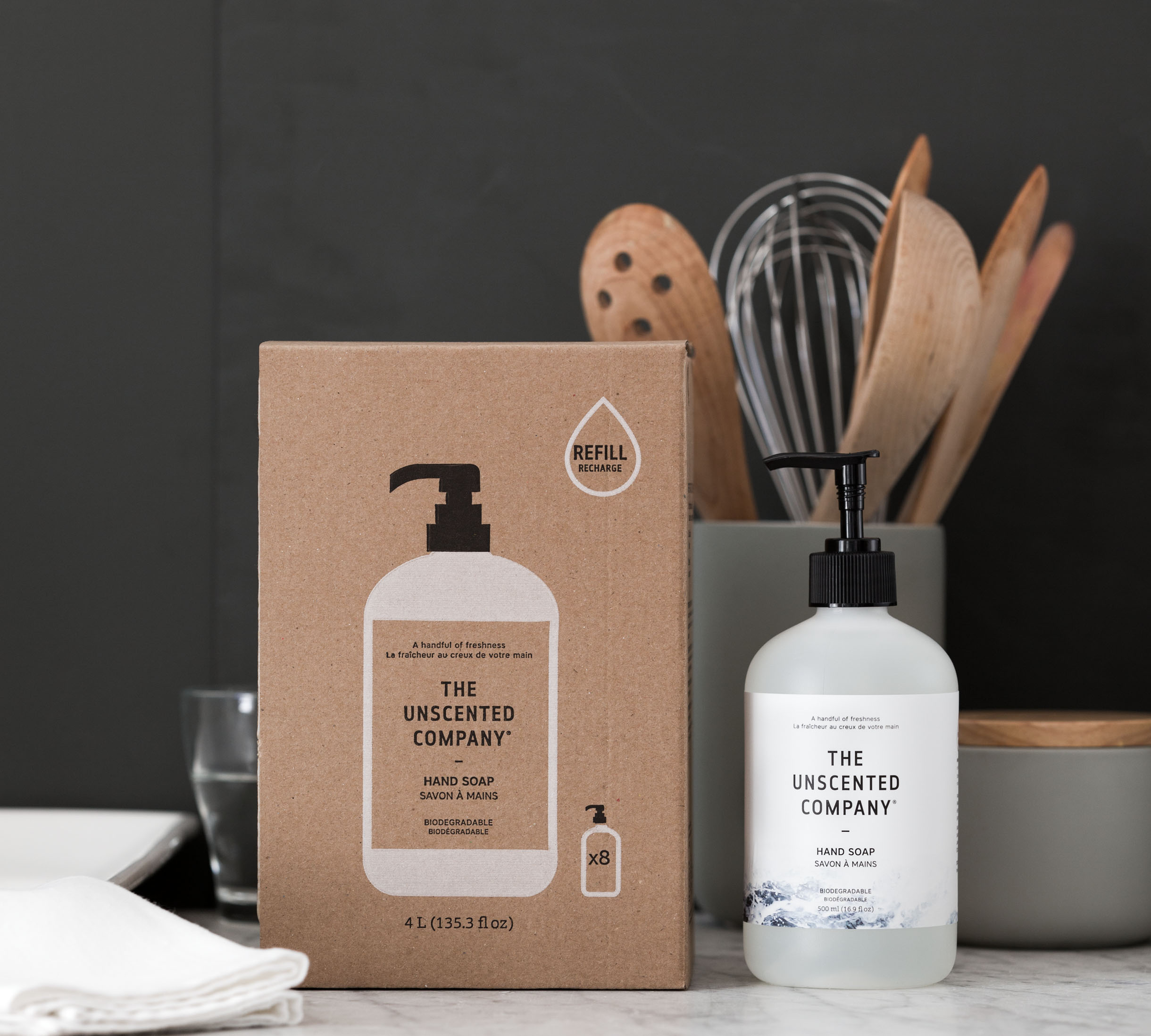 THE UNSCENTED COMPANY, SUSTAINABILITY AND PACKAGING IMPACT