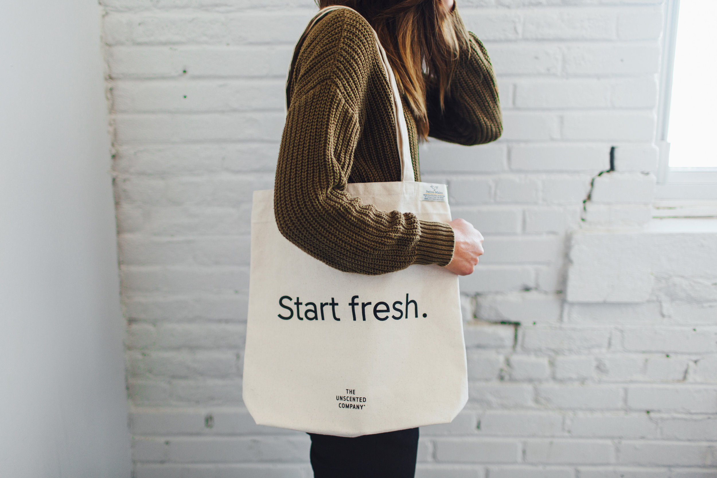 ....Start fresh. Bag | The Unscented Company..Sac Start fresh. | The Unscented Company....