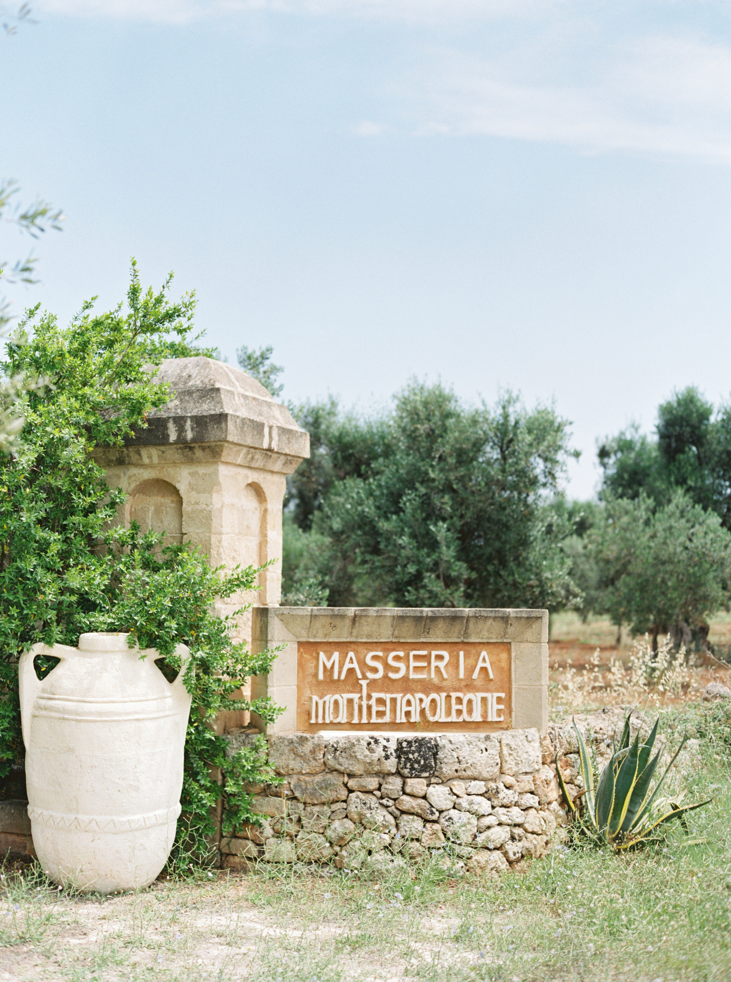 Masseria Montenapoleone destination wedding in Puglia, Italy by Meggie Francisco Events.
