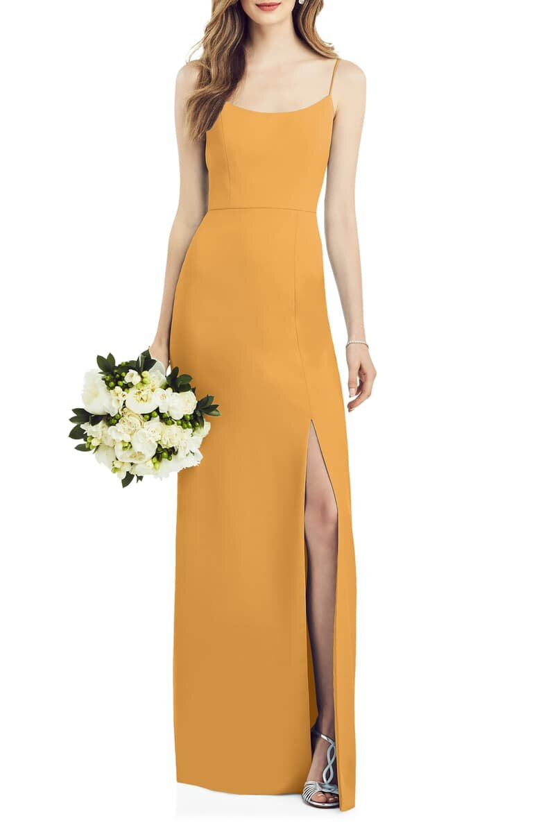 Mustard Yellow Bridesmaid Dresses For Your Squad Meggie Francisco Events