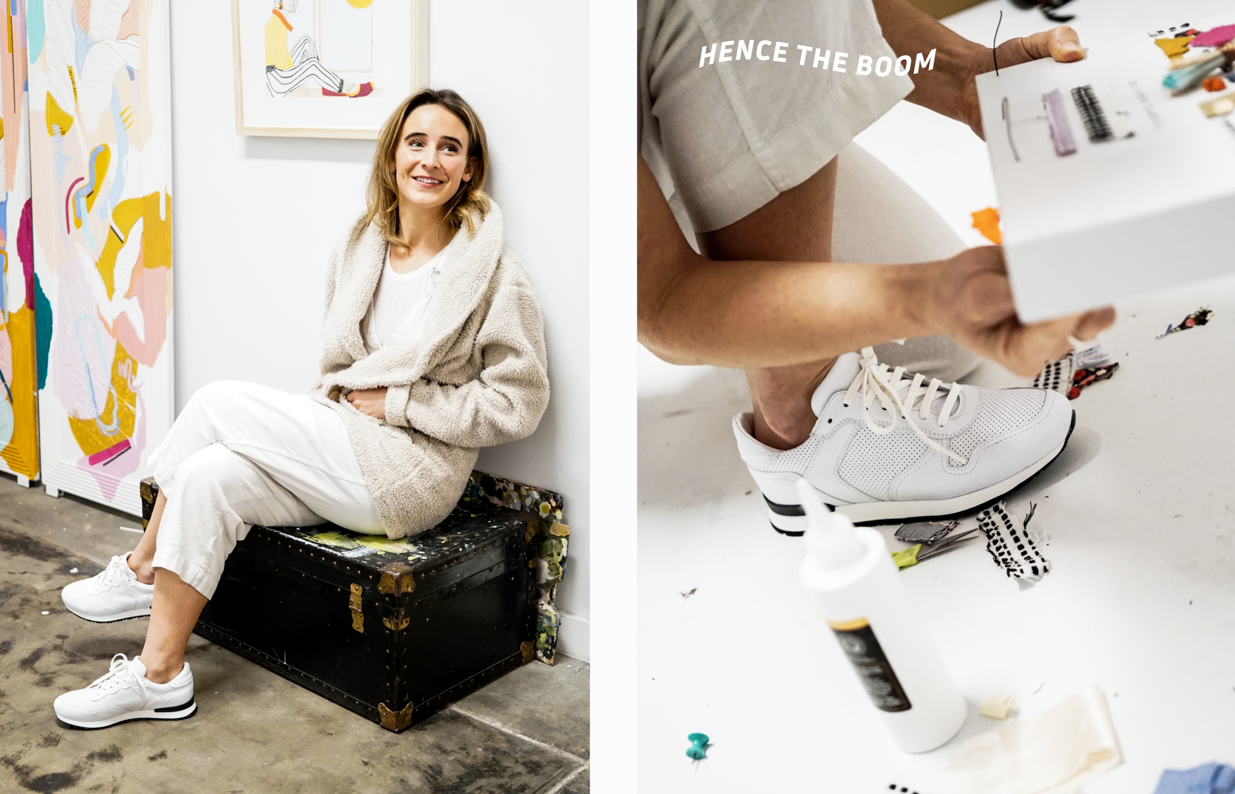 Sneaker x Oliver Cabell x Meredith Steele - Product shoot