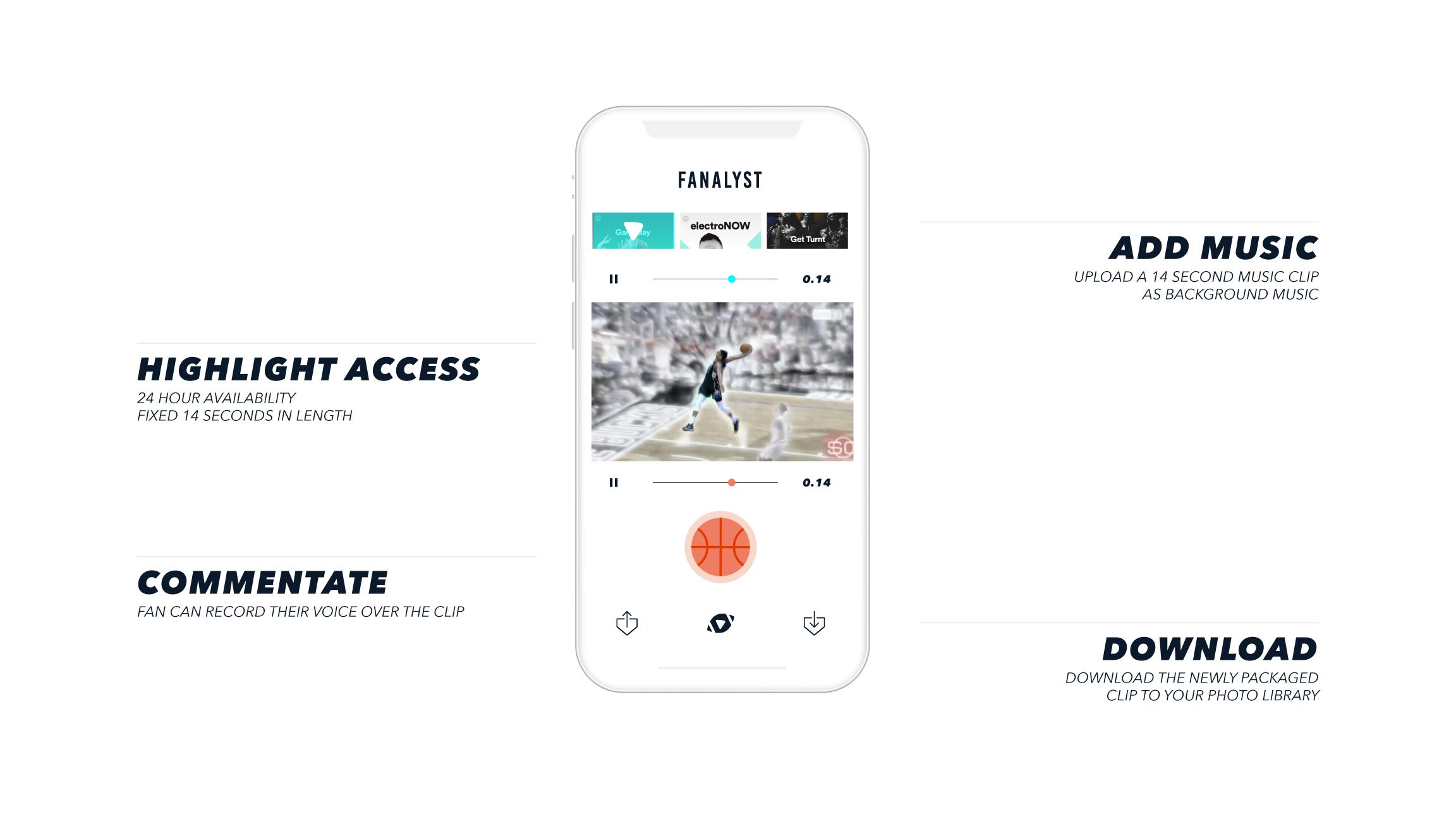 Fanalyst - A Sports Highlight Generator for Instagram