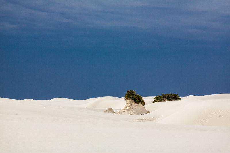 Pedestals at White Sands