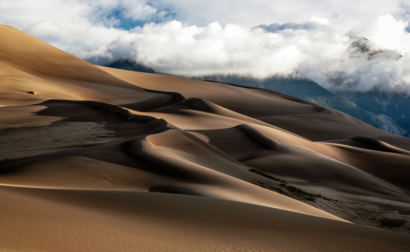 © Ron Marabito, Magic waves of sand, Great Sand Dunes NP, CO