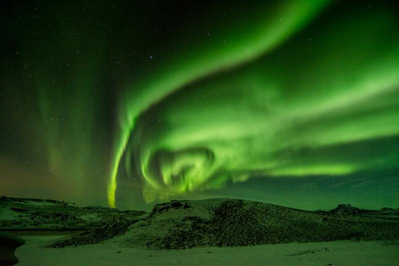 Icelandic Northern Lights captures my Heart