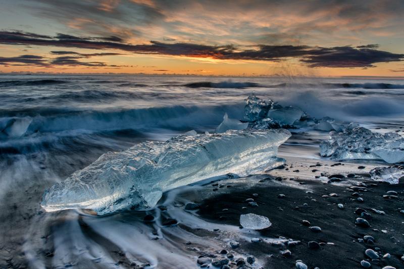 Diamond Beach Glacier Ice