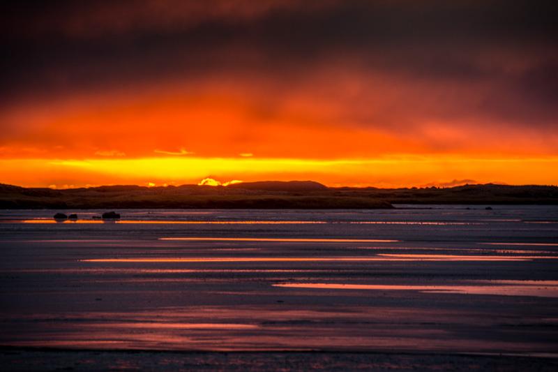 Vestrahorn sunset