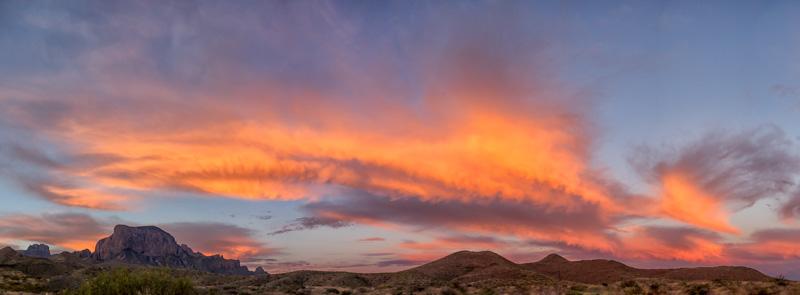 Sunrise in Big Bend National Park