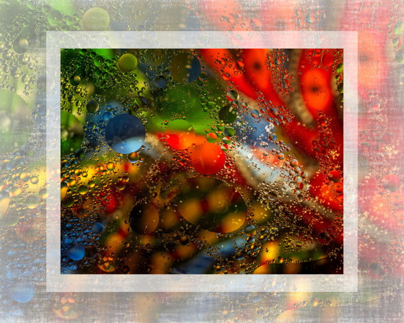 OIl on Water Abstract