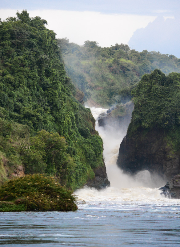 © Suzonne Evans ~ A Nile Waterfall