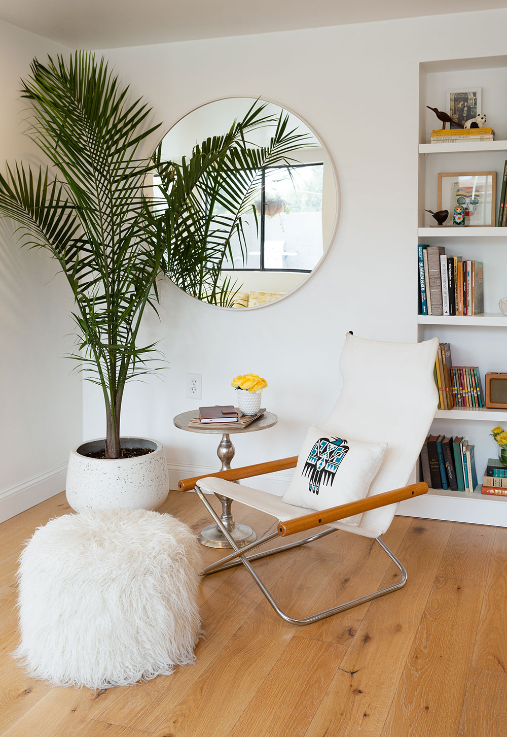 Eclectic Midcentury Living Room