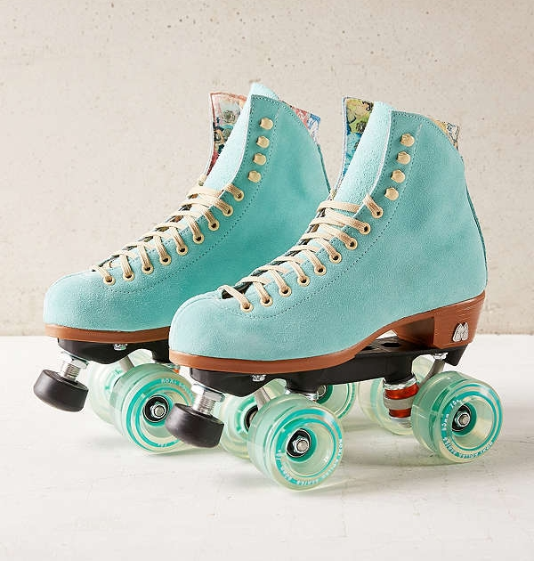 Moxi Leather Roller Skates - Because why not?