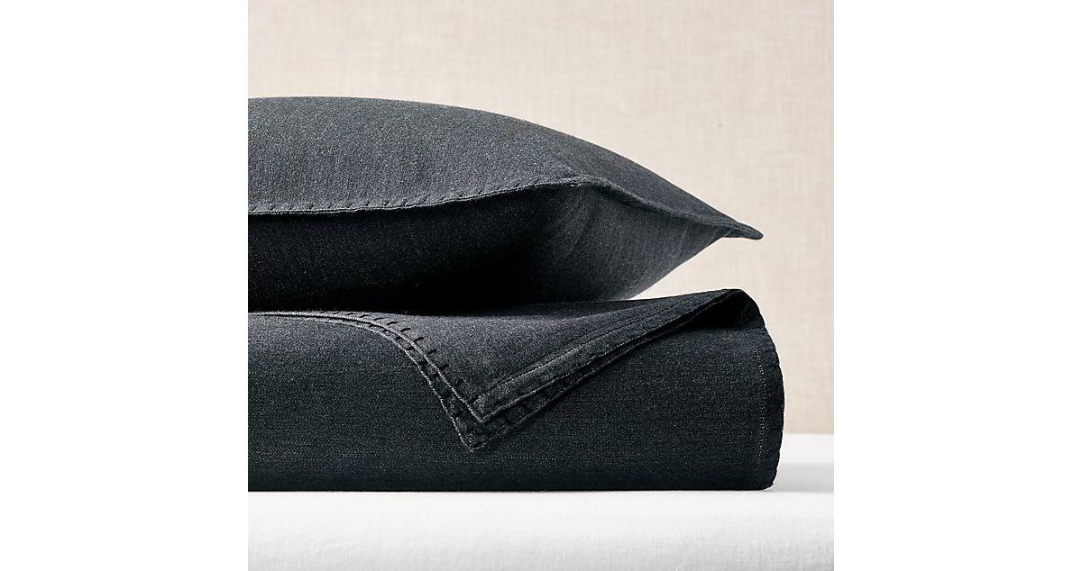 Restoration Hardware Italian Fine Wool Coverlet & Sham