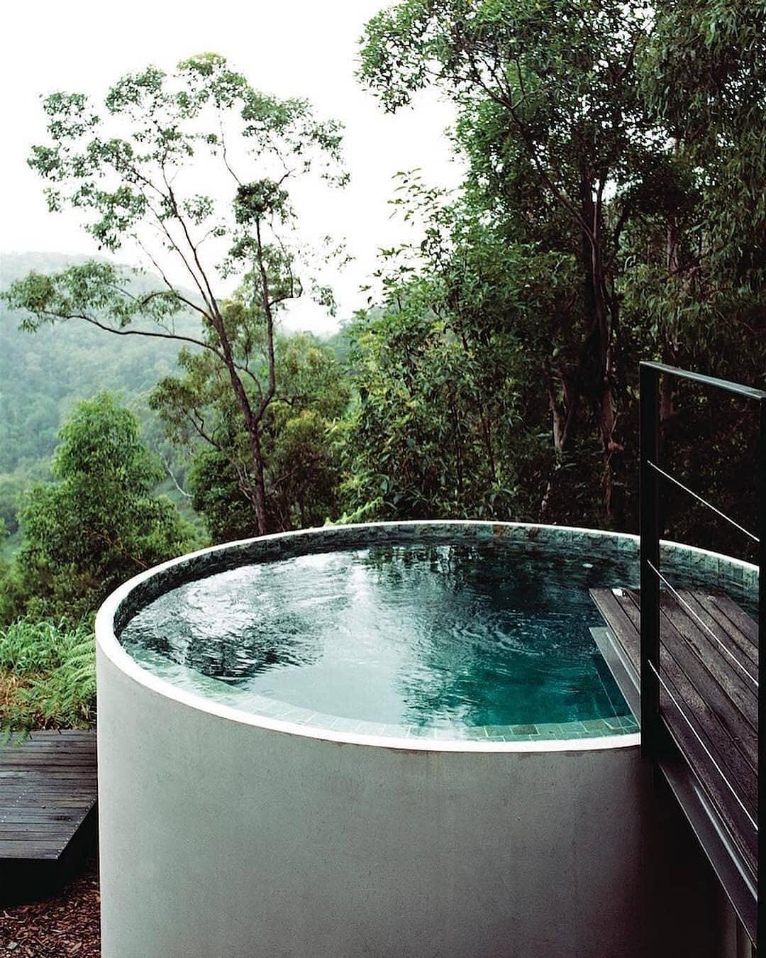 Plunge Pools - Plunge pools… enough said! These pools are popping up everywhere and we can't get enough of them. They are perfect for Phoenix and the perfect route when you don't have a lot of backyard space. Our favorite is the water tank turned plunge pool by Sparks Architects— genius!