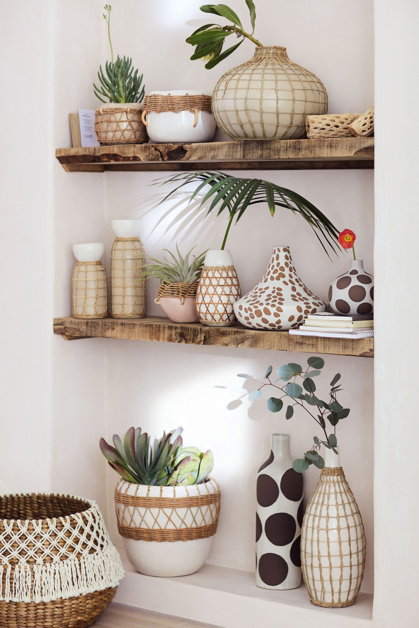 Sun Porch Pot - Top it off with a couple of these glazed earthenware pots since everything is better with plants.Source: Anthropologie