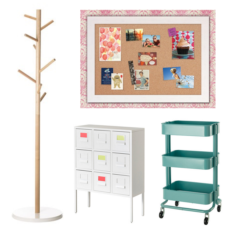 "DIY: Kid's Study Area - ""This space must be fun and colorful! Add color with rugs, wall art, cushions, painted furniture, bright organization office supplies or color-coded labeling. Use storage boxes, file holders, baskets, and other organizational pieces. Limit non-functional decorative accessories. - Mackenzie"""